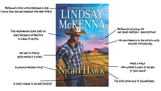 January 19_Lindsay McKenna_Night Hawk_Cover breakdown