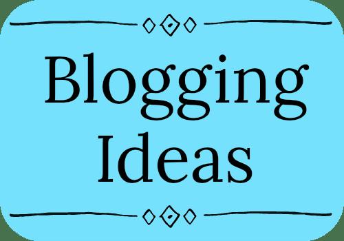 bloggingideas